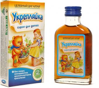 Сироп для детей Укрепляйка - для укрепления иммунитета