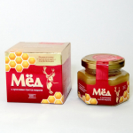 Мёд с кусочками пантов алтайского марала