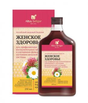 Алтайский медовый бальзам «Женское здоровье»