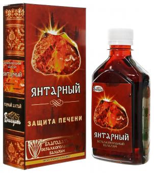 Бальзам безалкогольный «Янтарный» (защита печени)