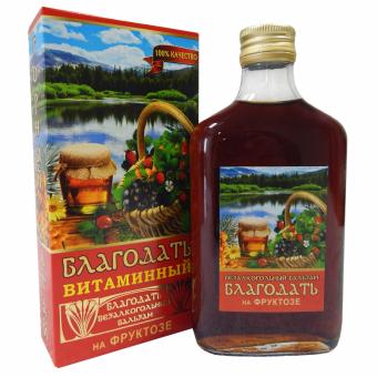 Бальзам безалкогольный «Благодать» (витаминный) на фруктозе