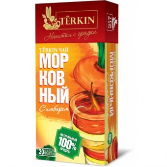 Чайный напиток TERKIN морковный с имбирем