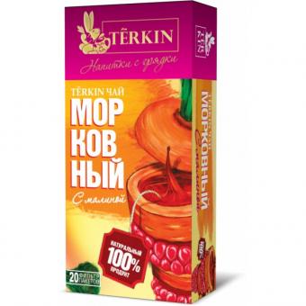 Чайный напиток TERKIN морковный с малиной