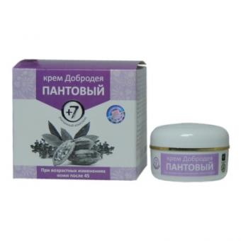 Крем Добродея Пантовый +7 - при возрастных изменениях кожи (после 45)