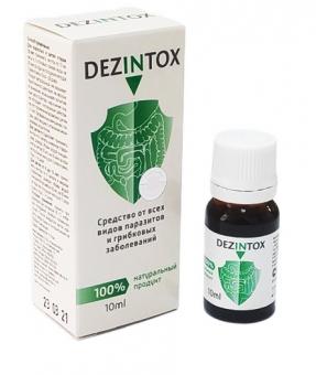 DezIntox - при гельминтной и грибковой инфекциях
