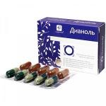 Дианоль - растительные капсулы при диабете