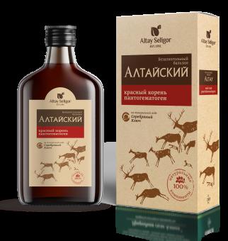 Алтайский бальзам «Красный корень, пантогематоген»
