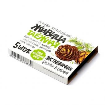 Живица таёжная лиственничная без добавок - натуральная жевательная резинка