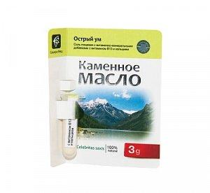 Каменное масло с витамином В13 и кальцием - Острый ум