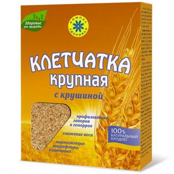 Клетчатка пшеничная крупная с крушиной