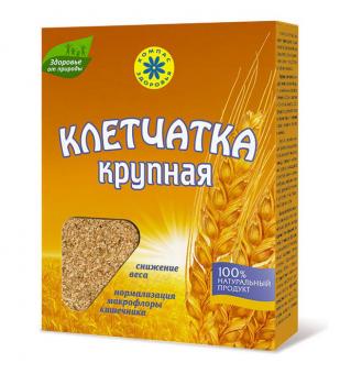Клетчатка пшеничная крупная