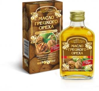 Масло грецкого ореха Алтай
