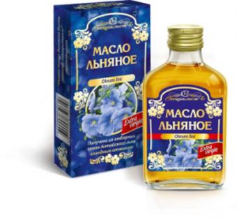 """Масло льняное """"Алтай"""""""