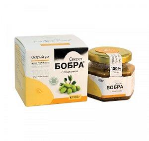 Секрет бобра с лецитином на меду - Острый ум