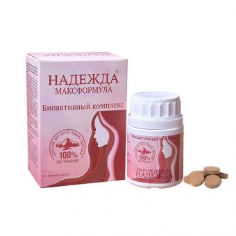 Надежда Максформула - интимное здоровье женщины