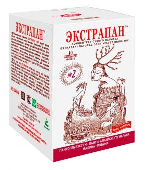 Экстрапан №2  - напиток для улучшения работы желудочно-кишечного тракта
