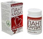 ПАНТ КАРДИО - панты и пантогематоген алтайского марала с дигидрокверцитином и витамином РР
