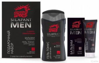 Подарочный набор для мужчин (бальзам после бритья + гель-тонус для волос)