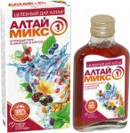 Сироп натуральный Алтаймикс-1 из дикоросов на фруктозе - помощь сердцу и сосудам, 250мл