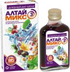 Сироп натуральный Алтаймикс-3 из дикоросов на фруктозе - помощь зрению, 250мл