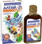 Сироп натуральный Алтаймикс-4 из дикоросов на фруктозе - энергия и тонус