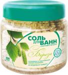 Соль для ванн Малавит-Флора с березовыми листьями, 500г