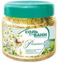 Соль для ванн Малавит-Флора с экстрактом ромашки