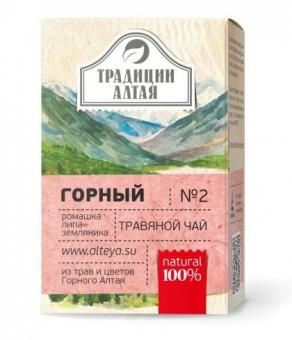 Травяной чай Горный Традиции Алтая