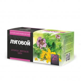 Травяной чай Луговой в фильтр-пакетах