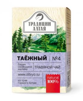 Травяной чай Таёжный Традиции Алтая