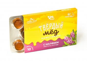 """Твёрдый мёд Honey Way """"Шалфей"""""""