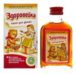 Сироп для детей Здоровейка - помощь при кашле и простуде, 100мл
